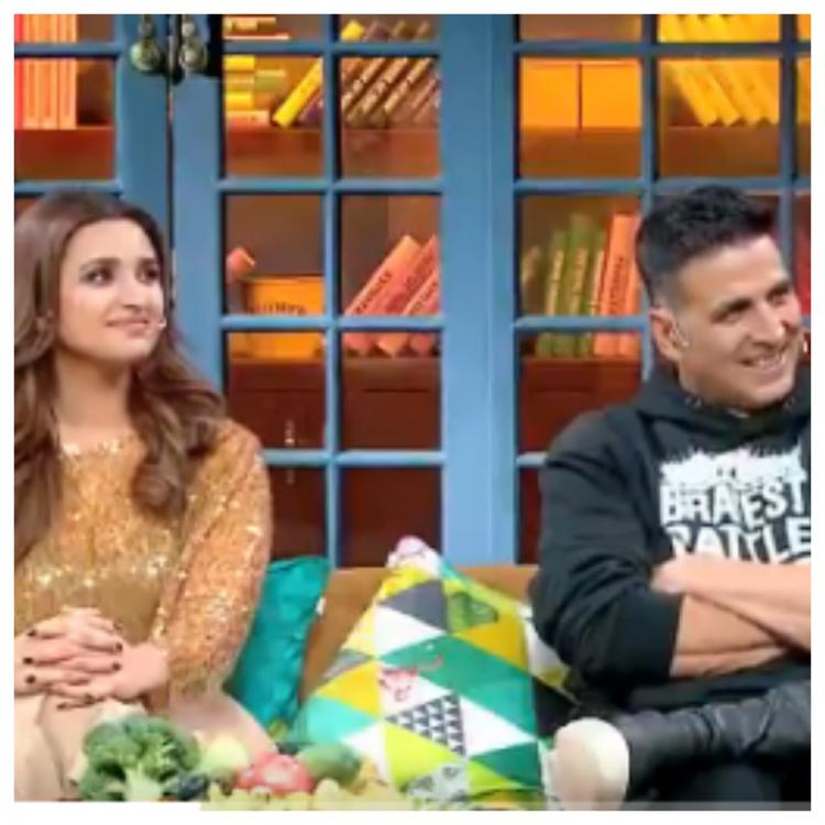 Akshay Kumar and Parineeti Chopra will be seen on The Kapil Sharma Show