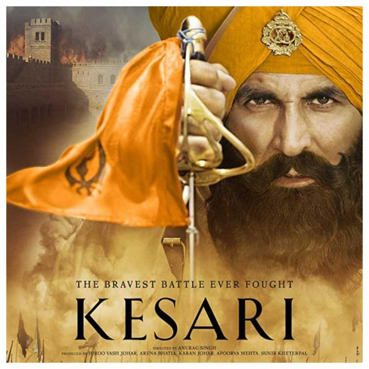 Akshay Kumar shares the BTS video of Kesari says, 'Always the happiest when I'm in action'