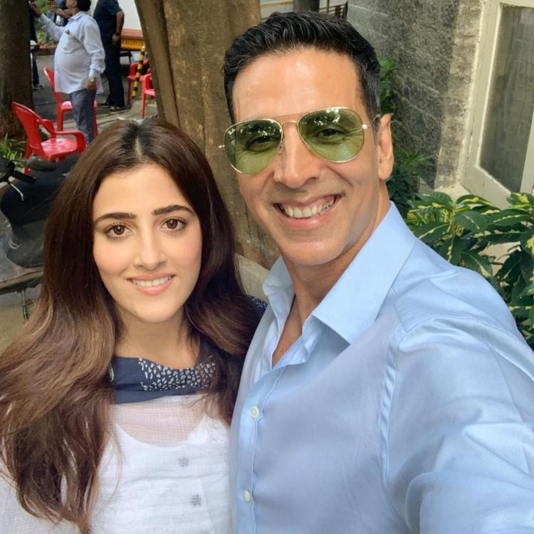 Akshay Kumar films a special music video with Kriti Sanon's sister Nupur & the latter is all praise