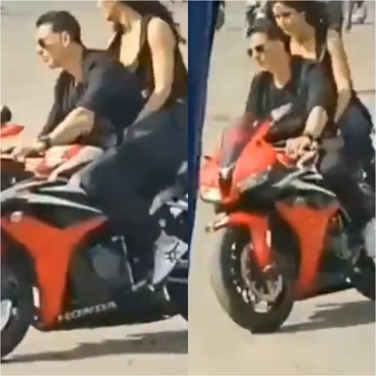 Akshay Kumar and Katrina Kaif's LEAKED video from Sooryavanshi is worth your attention; Check it out