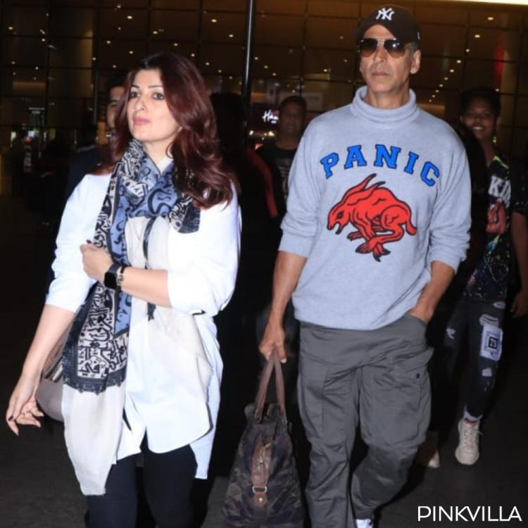 PHOTOS: Akshay Kumar and Twinkle Khanna are back in the bay post anniversary celebrations