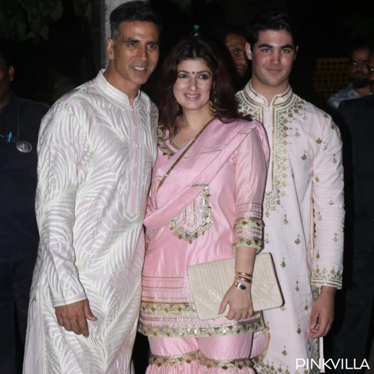 PHOTOS: Akshay Kumar, Tiger Shroff, Tara Sutaria and others attend the Bachchan's Diwali party