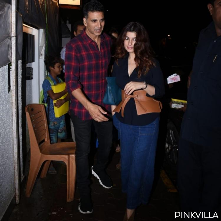 PHOTOS: Akshay Kumar and Twinkle Khanna are all smiles post a dinner date