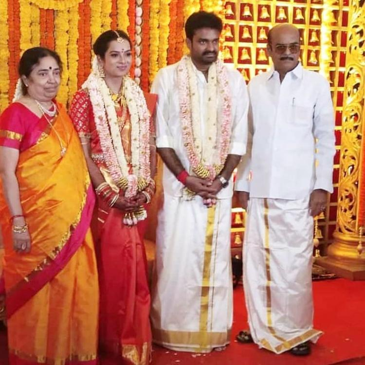 Amala Paul's ex husband AL Vijay gets married to R Aishwarya in a private ceremony; See Pic