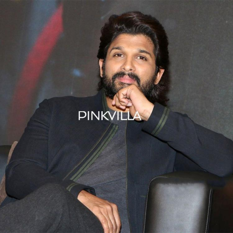 PHOTOS: Allu Arjun aces the fashion game in an all black look at Ala Vaikunthapurramuloo's success meet