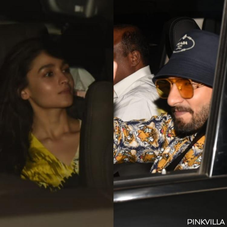 Gully Boy screening: Alia Bhatt and Ranveer Singh keep up with their style game; view PICS
