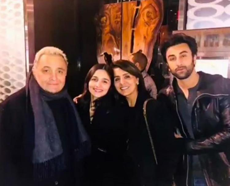Alia Bhatt planning a welcome party for beau Ranbir Kapoor's father Rishi Kapoor?