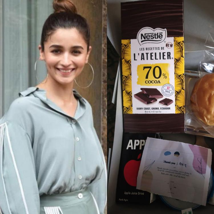 Alia Bhatt sends special surprise to healthcare workers amid COVID 19; Doctor thanks her for sweet gesture