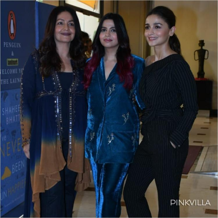 Alia Bhatt reunites with sisters Pooja Bhatt and Shaheen Bhatt for an event; See Pics
