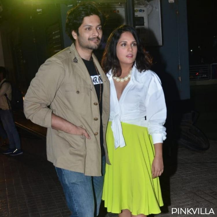 PHOTOS: Richa Chadha & Ali Fazal attend Bhoot screening days after actress dismissed their marriage rumours