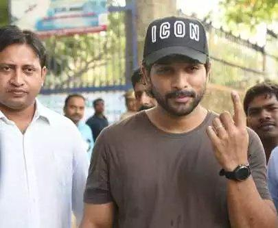 Lok Sabha Elections 2019: Allu Arjun, Jr NTR and SS Rajamouli cast their vote; see photos