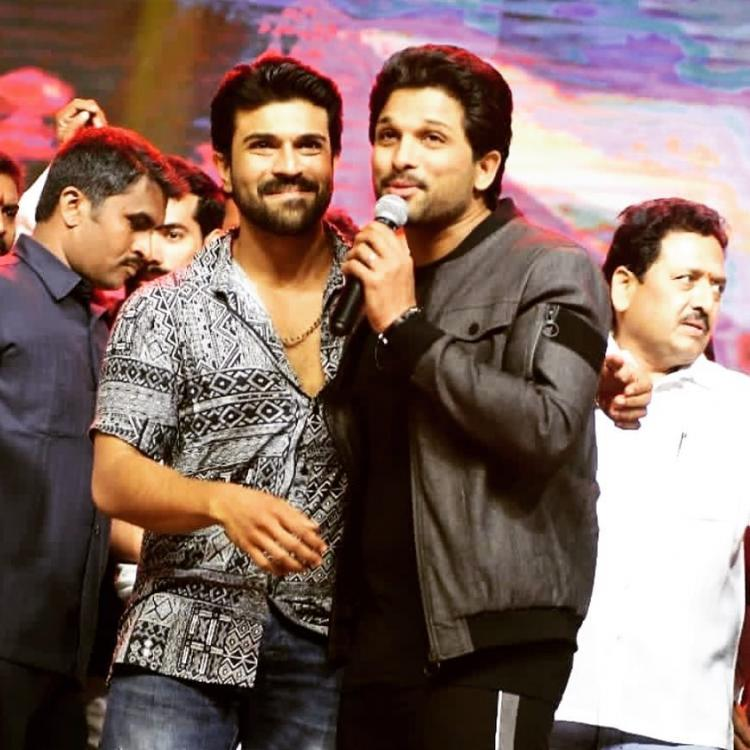 Allu Arjun welcomes Ram Charan on Instagram in an interesting way; Check it out