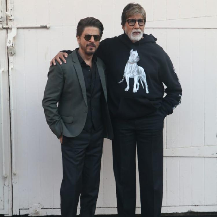 Amitabh Bachchan complains no one is talking about Badla; Shah Rukh Khan says 'We are waiting for your party'