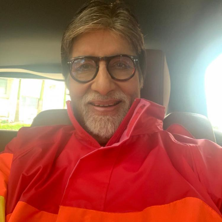 Amitabh Bachchan pens a heartfelt note thanking fans for showering him with wishes on his 77th birthday