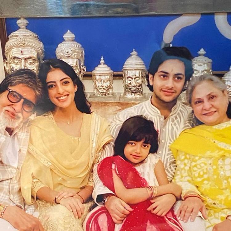 Happy New Year 2020: Amitabh Bachchan shares an unseen picture with his grandkids Navya, Agastya & Aaradhya