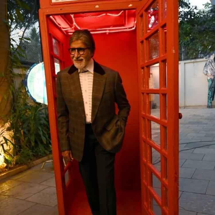 Amitabh Bachchan skips an app launch event yet manages to deliver his message through video