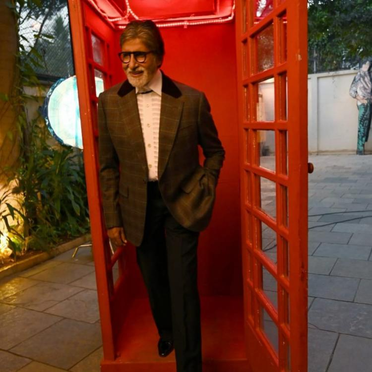 Amitabh Bachchan stuns the Chehre crew as he delivers a 14 minute take in one shot