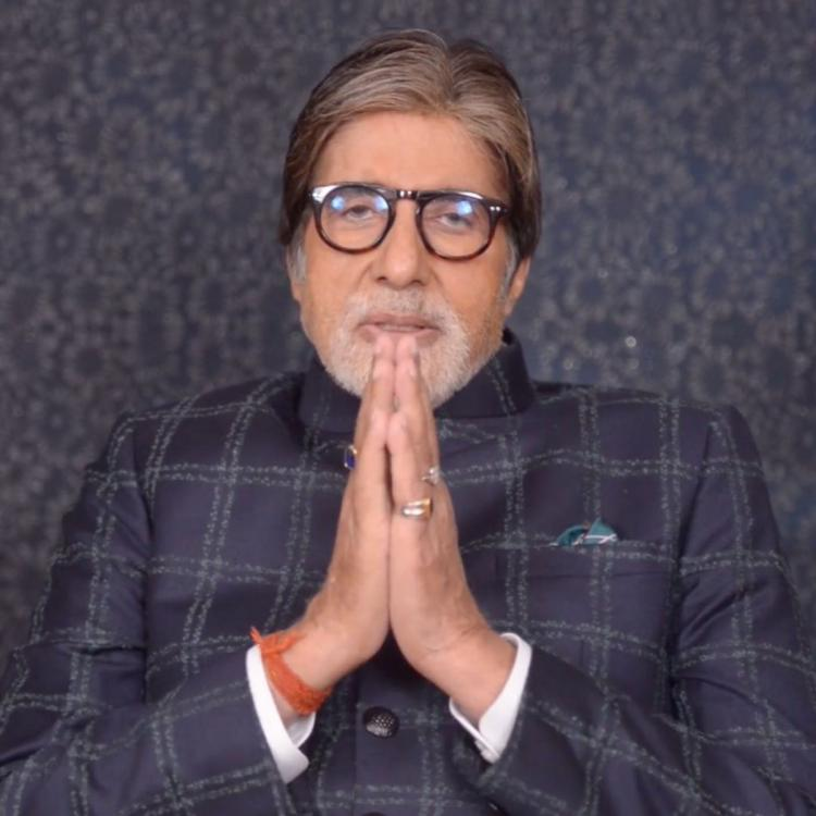 Amitabh Bachchan apologises to a fan who points out the superstar's error while numbering his tweet