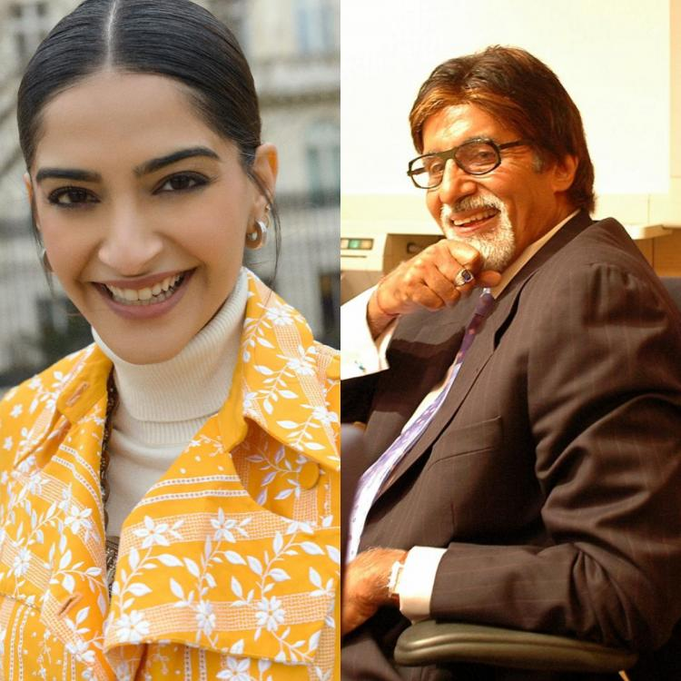 Amitabh Bachchan compares an image of the Sun's surface shared by Sonam Kapoor Ahuja to 'chikki'