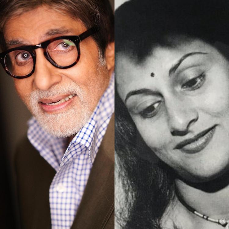 Amitabh Bachchan shares a vintage pic of Jaya Bachchan & crops himself leaving the fans amused; Check it out