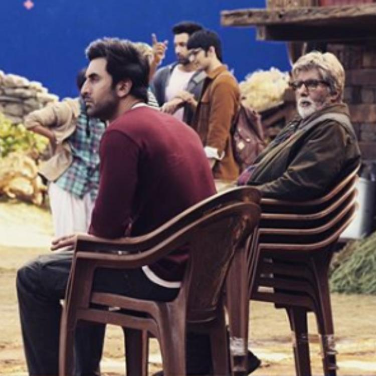 Brahmastra: Amitabh Bachchan is in awe of Ranbir Kapoor's talent as he shares 4 PICS; Calls him a favourite