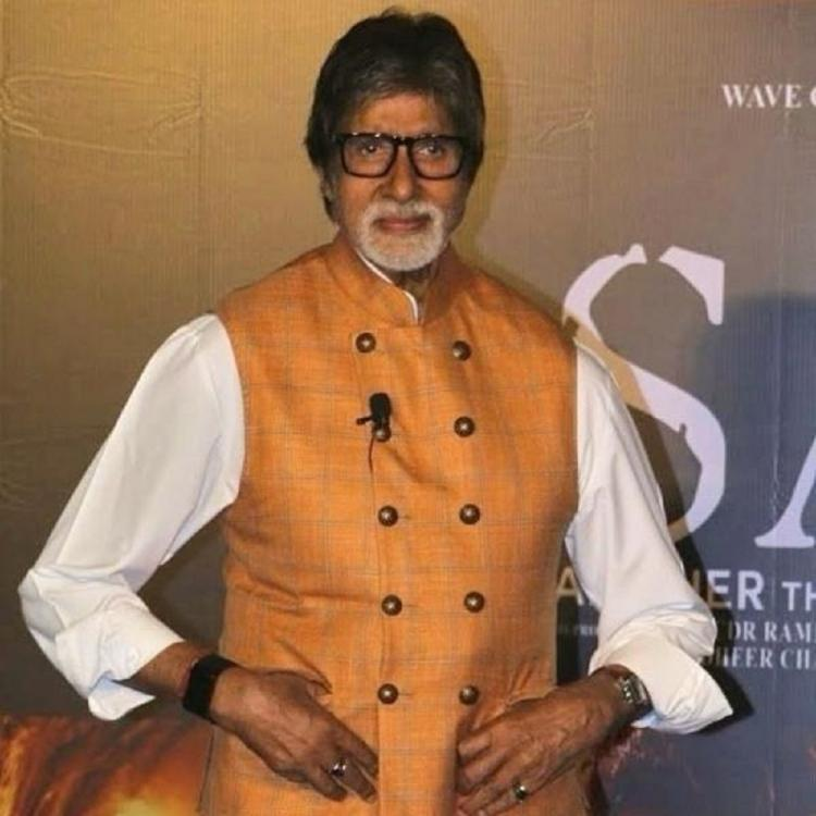 Amitabh Bachchan was mistaken for Salman Khan by a fan and his reaction to it was hilarious; Check it out