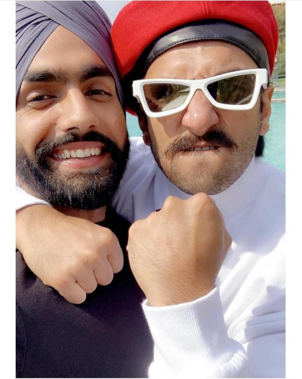 83' starring Ranveer Singh sees Punjabi actor Ammy Virk train under cricketer Balwinder Singh Sandhu