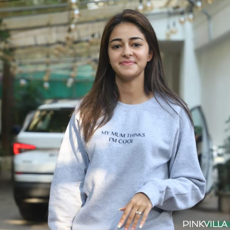 PHOTOS: Ananya Panday sports a 'My mum thinks I'm cool' sweatshirt and we agree just as much