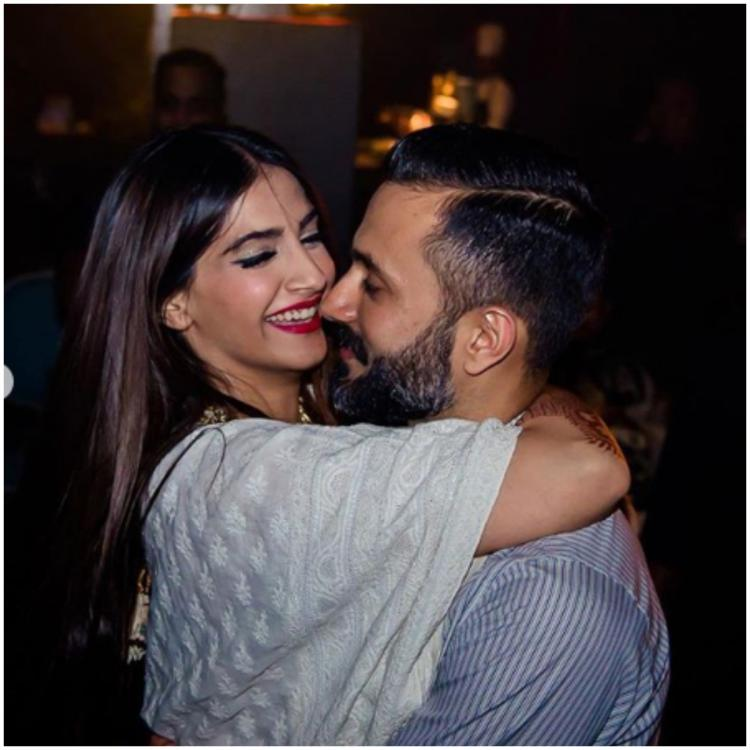 Sonam Kapoor gets the most adorable wish from husband Anand Ahuja as he shares an unseen picture; view POST