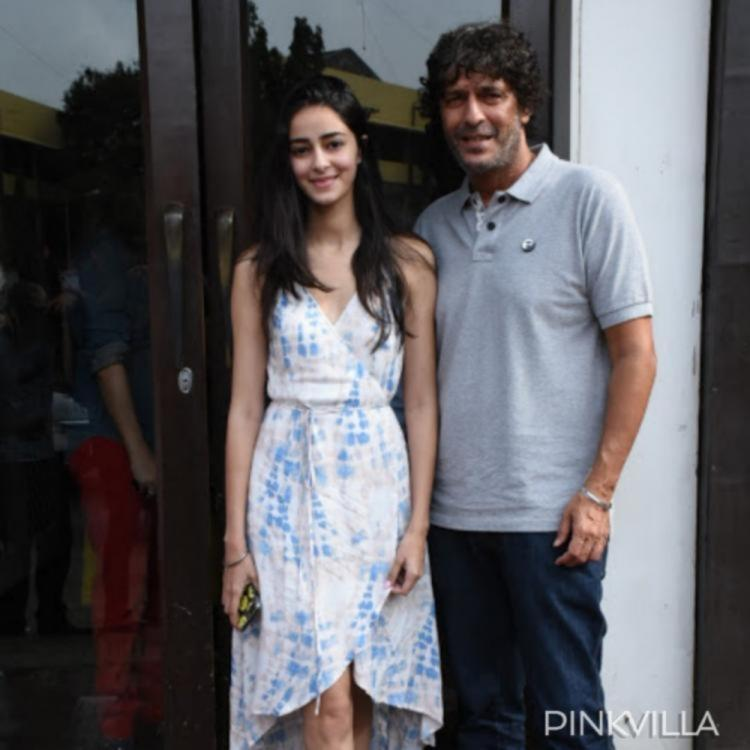 Ananya Panday has THIS to say on dad Chunky Panday's comment about him being wilder than her in his days