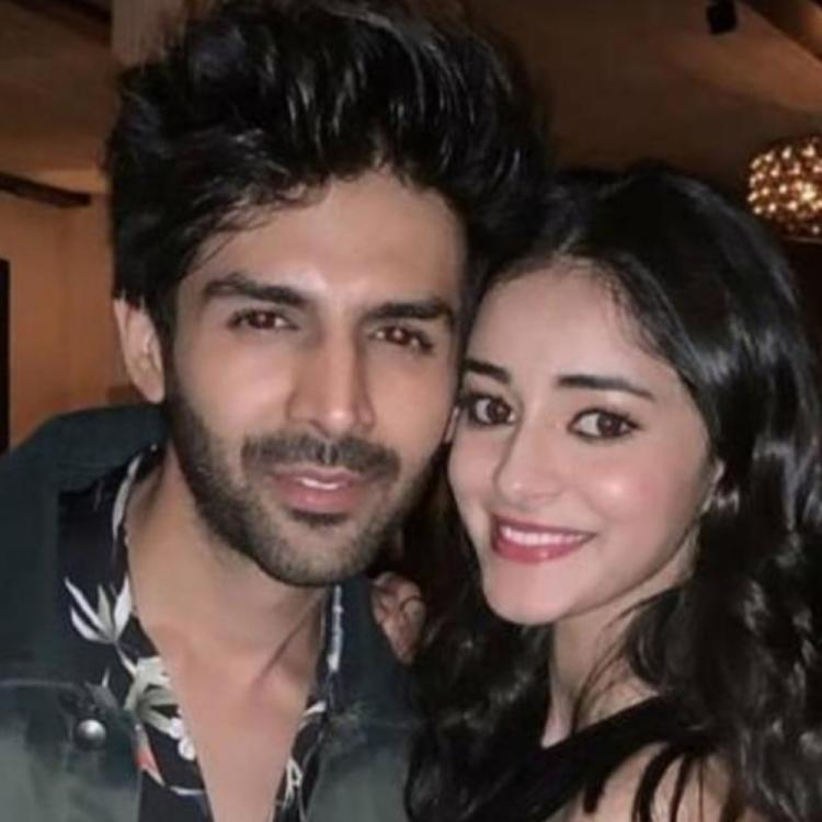 Ananya Panday was asked if Kartik Aaryan looks better with Sara Ali Khan or her; Here's what the actress said