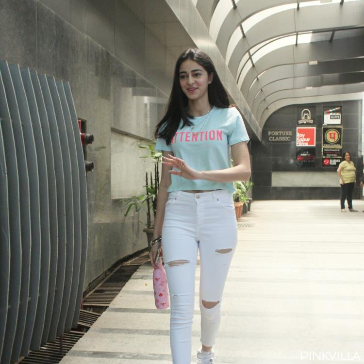 SOTY 2 star Ananya Panday looks fresh as a daisy as she gets papped in Mumbai; See Pics