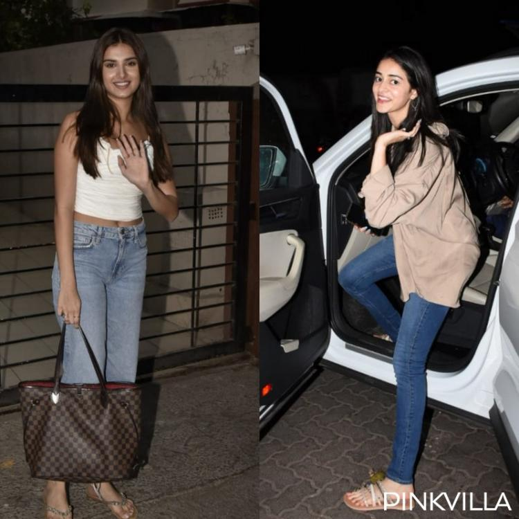 PHOTOS: Ananya Panday looks chic as she visits the church while Tara Sutaria keeps it casual for work meetings