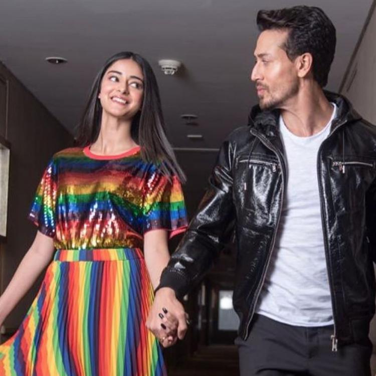 Ananya Panday is elated to be reunited with SOTY 2 co star Tiger Shroff in a unique way; Check it out