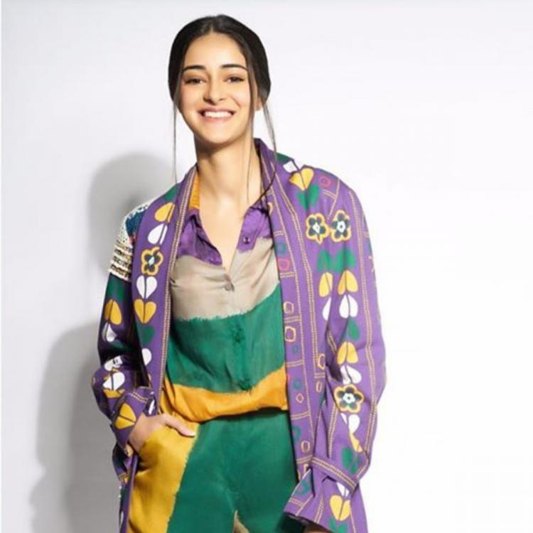 Ananya Panday paints a happy picture wearing Saaksha & Kinni; Yay or Nay?