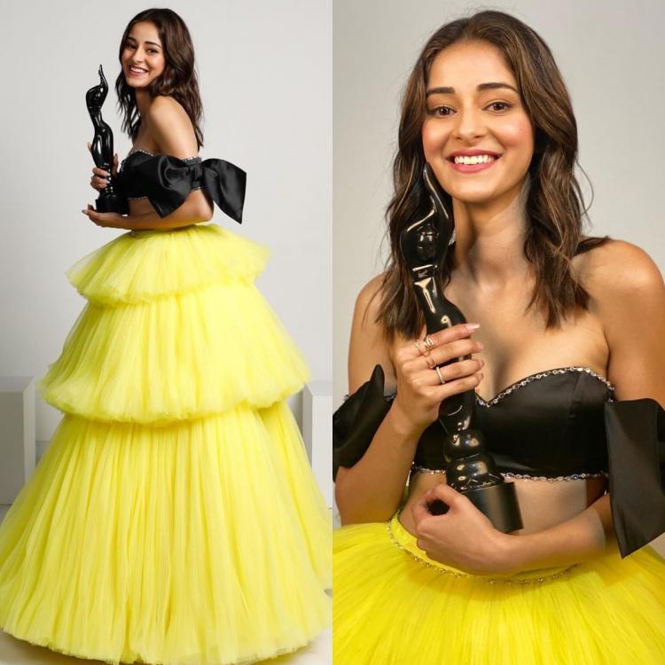 Filmfare Awards 2020: Ananya Panday in a Dylan Parienty outfit is the ultimate queen bee