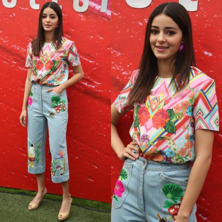 Ananya Panday keeps it colourful in a casual look as she steps out in the city; Yay or Nay