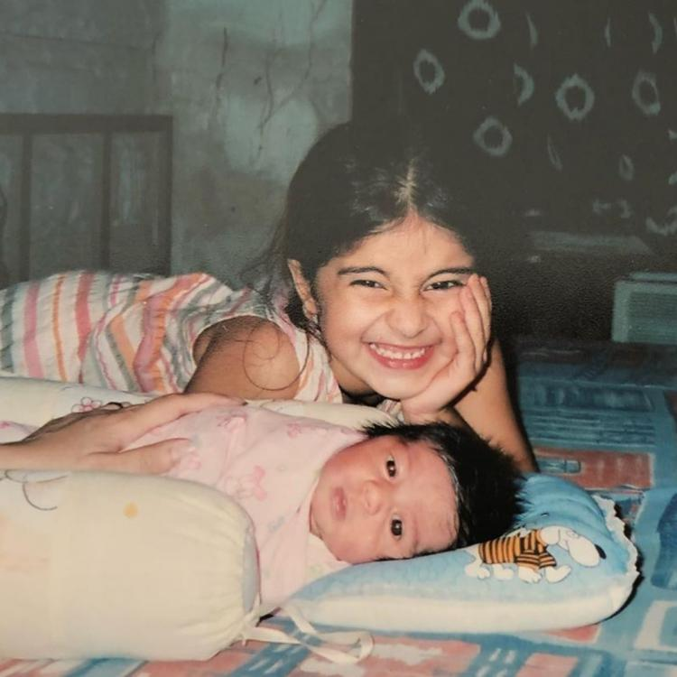 Ananya Panday wishes her 'brat' sister Rysa on her birthday with adorable childhood photos; Check it out