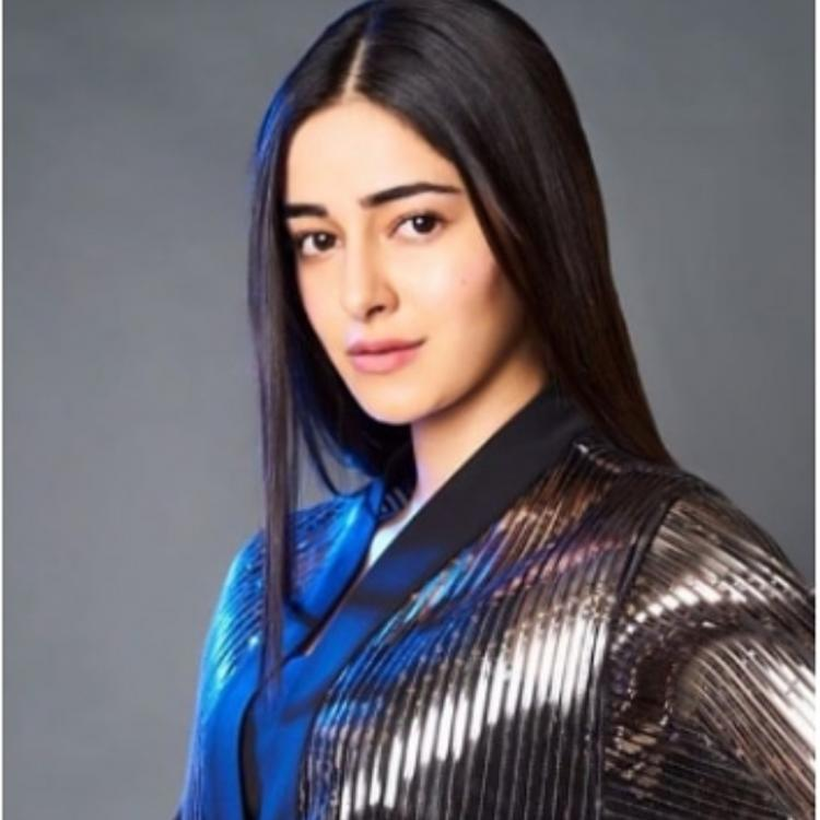 Ananya Panday looks disco ready in her shiny ensemble and we want one too; view PICS