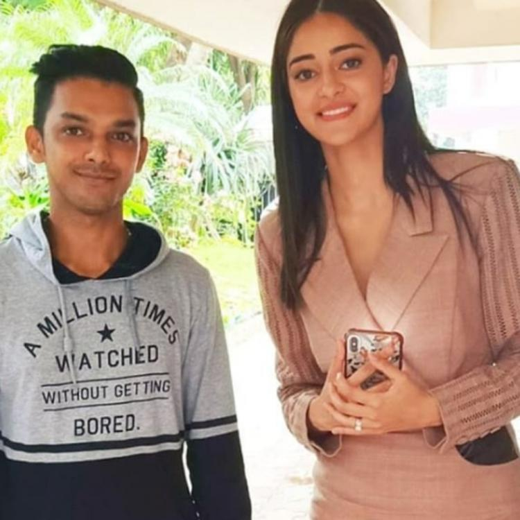 Ananya Panday flashes her adorable smile as she poses with a fan in this PHOTO; Check it out