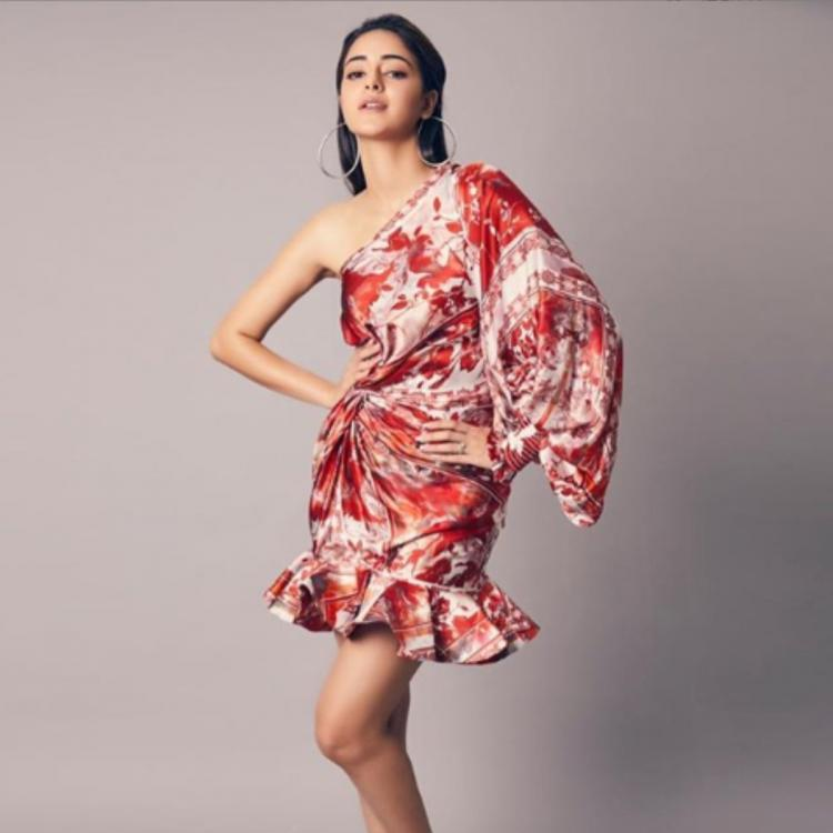 PHOTOS: Ananya Panday proves that a pair of hoops and sneakers can make any dress look fun and funky