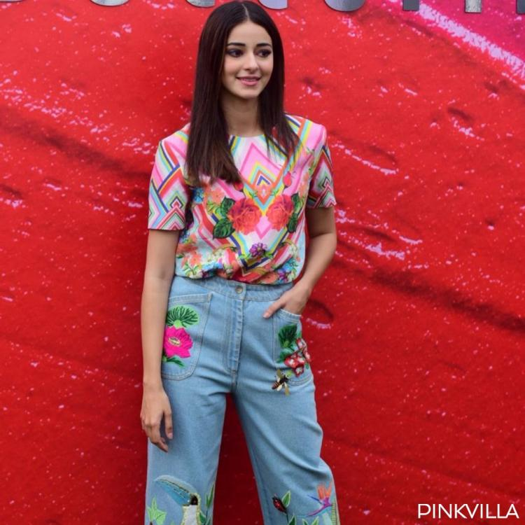 PHOTOS: Ananya Panday adds a pop of colour to her outfit at the Lakme Fashion Week and we are floored