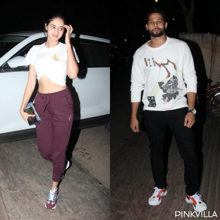 PHOTOS: Ananya Panday and Siddhant Chaturvedi step out in the city and it has us excited for their film