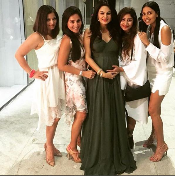 Image result for baby shower of aanchal kumar