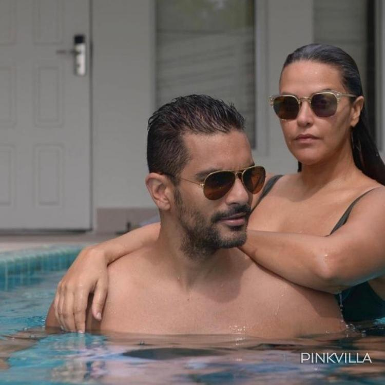 EXCLUSIVE: Angad Bedi and Neha Dhupia's unseen images from Maldives, the couple set the temperature rising