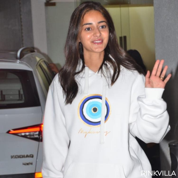 PHOTOS: Ananya Panday opts for a comfy yet trendy look as she steps out of a dubbing studio