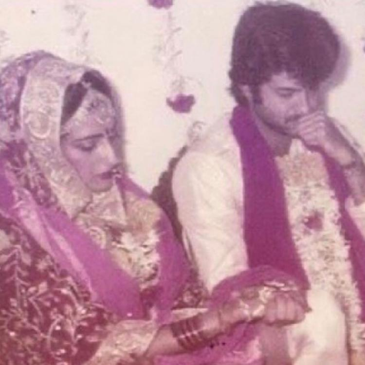 Anil Kapoor pens sweet note for wife Sunita on their anniversary; Recalls special moments from their wedding