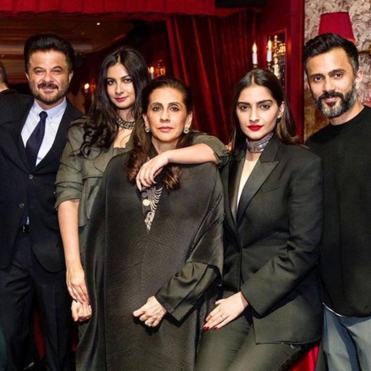Anil Kapoor bids adieu to 2019 and welcomes 2020 with a perfect family picture; Check it out