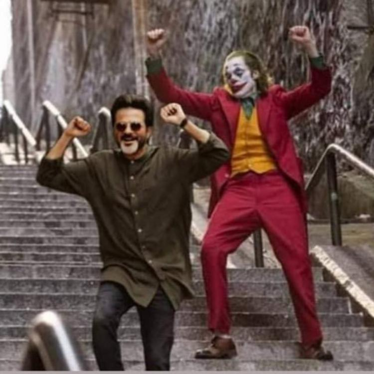 Anil Kapoor praises Joaquin Phoenix's iconic scene from Joker in Ram Lakhan style; Check it out