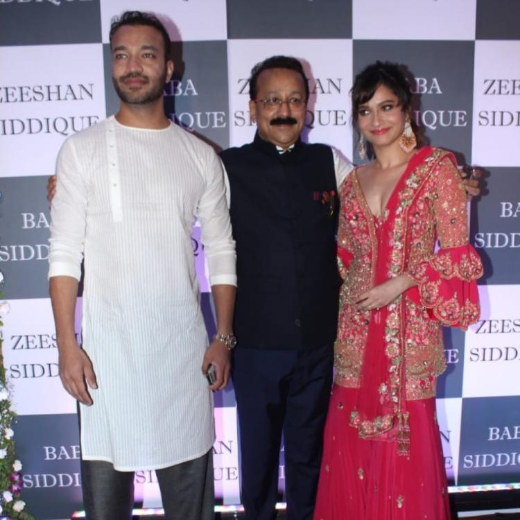 PHOTOS: Ankita Lokhande arrives with boyfriend Vicky Jain at Baba Siddiqui's Iftar Party